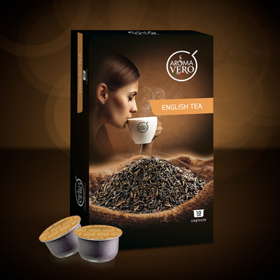 Aroma Vero - ENGLISH TEA - 10 capsule